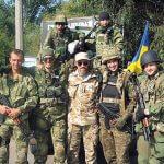 З побратимами із розвідзагону батальойну «Київська Русь»
