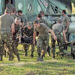 Вертоліт доправив поранених
